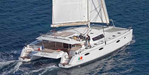 Katamaran segeln  Katamaransegeln in der Karibik - Kabinen & Kojencharter ...