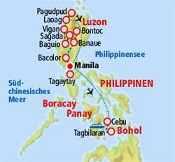 Vulkane Philippinen Karte.Philippinen Exotische Multikultur Auf über 7000 Inseln